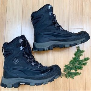 COLUMBIA men's Omni-heat winter snow boots, 10.